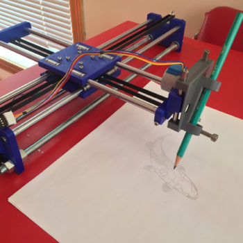 Drawing machines - immagine laboratorio Arduino User Group Cagliari