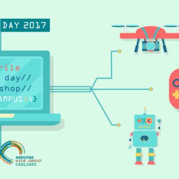 Arduino Day 2017 in laboratorio augc