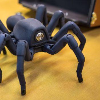 Vorpal: un ragno robot in laboratorio augc - blog augc
